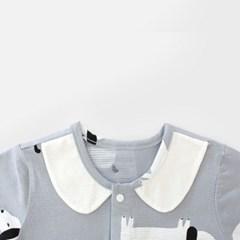 [메르베] 롱멍이 신생아 우주복/북유럽아기옷_여름용(7_(1019960)
