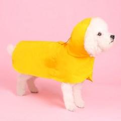 판초레인코트(yellow) Poncho raincoat 강아지우비