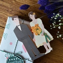축하합니다 카드 - 결혼