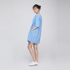 ALL DAY ONE PIECE (Stripe Blue)