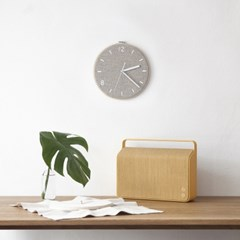 Fabric Clock_Latte Beige