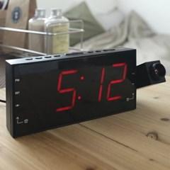 라디오 프로젝션 LED 디지털시계(2color)_(1172801)