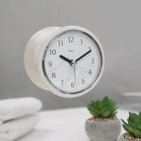 마블 패턴 욕실 방수 흡착 시계 (2color)