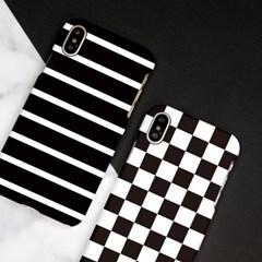 모노 패턴 하드/이중범퍼/카드슬라이드 케이스