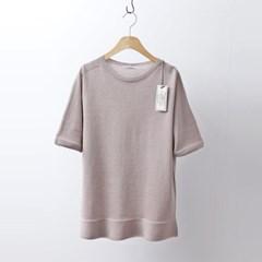 Hoega Linen Knit - 반팔