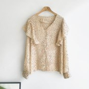 Stone Chiffon BLOUSE (2-color)