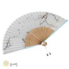 자개 독수리 부채_(1588886)