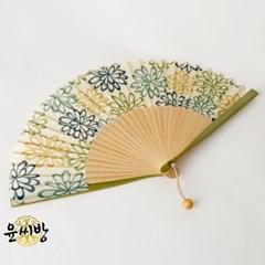 라임국화 부채_(1588847)