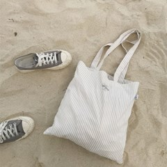 Stripe beige bag
