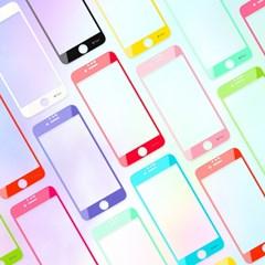 iFace 라운드 엣지 컬러 글라스 아이폰8/7/6s/6 액정보호필름