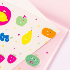 [AIUEO] Flat Case - Fruitschan(A6size)