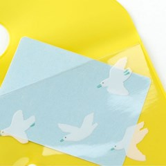 [AIUEO] Flat Case - Seabirds(A6size)