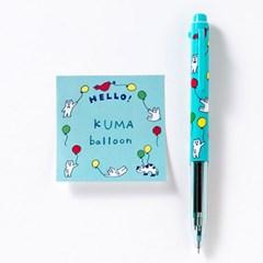 [AIUEO] Fusen Square - Kuma balloon