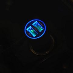 애니클리어 퀵차지 3.0 듀얼 고속 차량용충전기 QC30C
