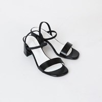 Open toe middle sandals