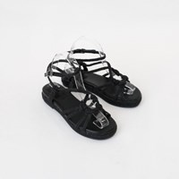 Natural string sandals