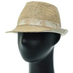 [더그레이]DMF28.나뭇잎배색 페도라 중절모 남성 모자