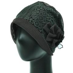 [더그레이S]DSS17.레이스 망사 여성 비니 엄마 모자
