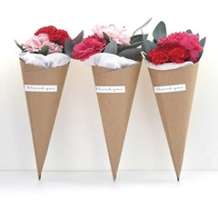 감사합니다 카네이션 꽃다발1P_3color