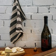 어닝 스트라이프 티타올 : Awning stripe tea towel