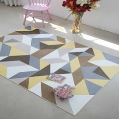 북유럽풍 패턴 감각 디자인 러그 4type