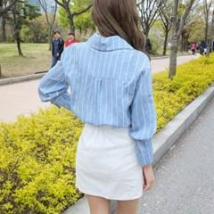 메이비 벨트 셔츠