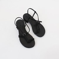 Slim line toe sandals