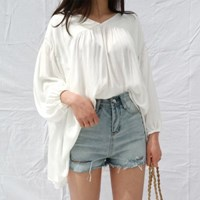 Vintage mood short pants