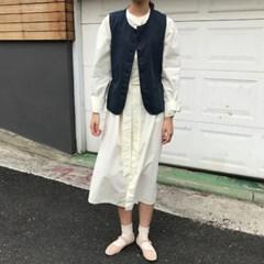 모네 셔츠 원피스
