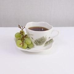 보태니컬 커피잔