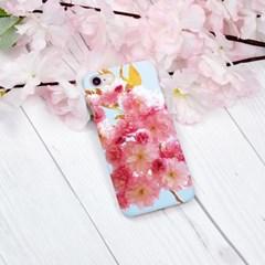 핑크 블로썸 하드/이중범퍼/카드슬라이드 케이스