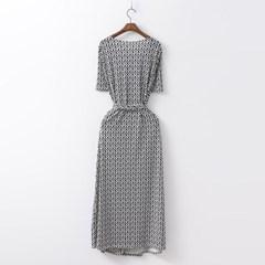 Unique Wrap Long Dress
