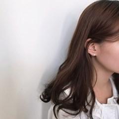 Silver flower earring (실버 꽃 귀걸이) [92.5 silver]