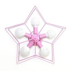오각별 5등 직부등 (핑크)