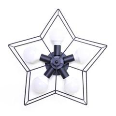 오각별 5등 직부등 (블랙)