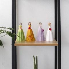 드레스 소녀 인형 4p set_(1121191)