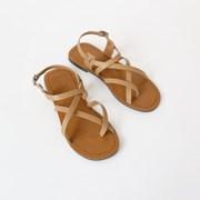 Thin cross strap sandals