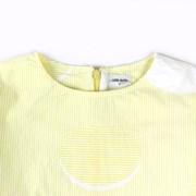 [리틀비티] 스트라이프 비엔 드레스 (레몬)_(766987)
