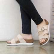 kami et muse  Wedge insole 5cm up belt slippers_KM18s181