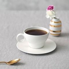 [보울보울] 볼볼오리진 커피잔 1인조 세트(밀크화이트)_(911679)