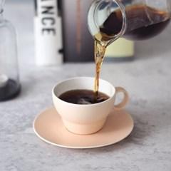 [보울보울] 볼볼오리진 커피잔 1인조 세트(피치블라썸)_(911678)