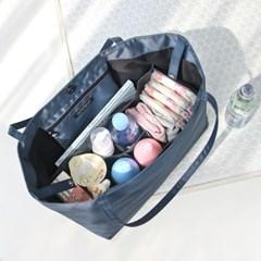 코니테일 엘 숄더백 - 블랙 (가벼운 출산가방 기저귀가방이너백)