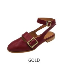 T010 buckle strap cherry red