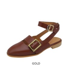 T010 buckle strap chestnut brown