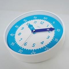 아토무소음교육용벽시계(블루)_(897519)