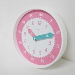 아토무소음교육용벽시계(핑크)_(897520)