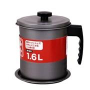 오일포트 기름거름망 오일팟 기름보관 1.6L
