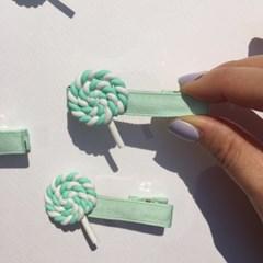 candy hairpin (사탕 헤어핀)