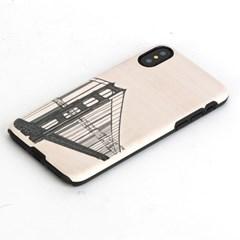 아이폰X 우드케이스 - 핸드브릿지