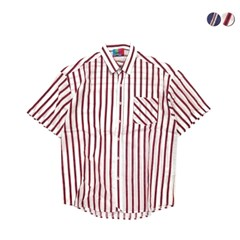 Ivy Linen Stripe Shirt(2color)(unisex)